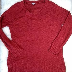 New Charlotte Russe Brick Red Sweater